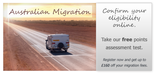 Australian Migration - Confirm Your Eligibility Online